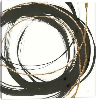 Gilded Enso II Canvas Art Print