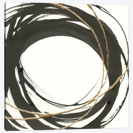 Gilded Enso III Canvas Print #WAC8802} by Chris Paschke Canvas Art Print