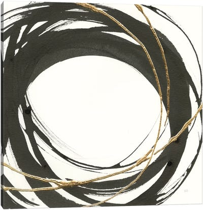 Gilded Enso III Canvas Art Print
