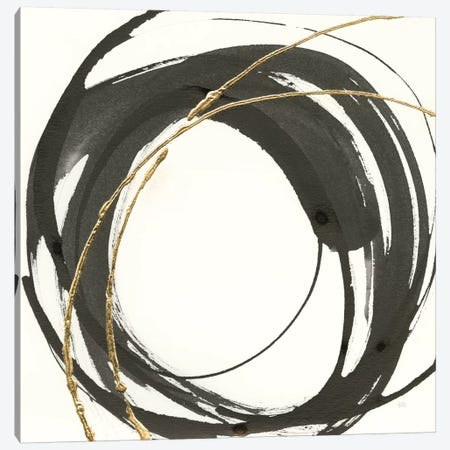 Gilded Enso IV Canvas Print #WAC8803} by Chris Paschke Art Print