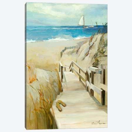 Coastal Escape Canvas Print #WAC880} by Marilyn Hageman Canvas Art
