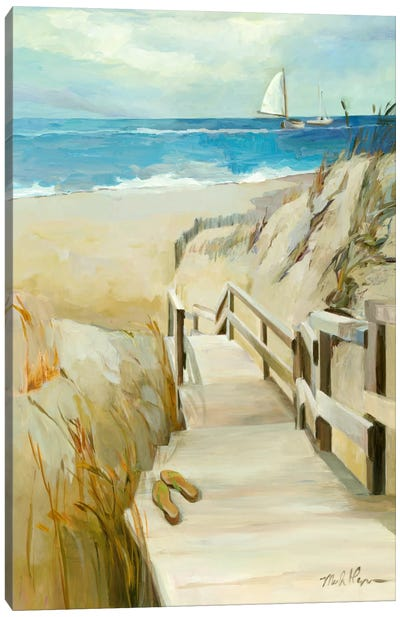 Coastal Escape Canvas Art Print