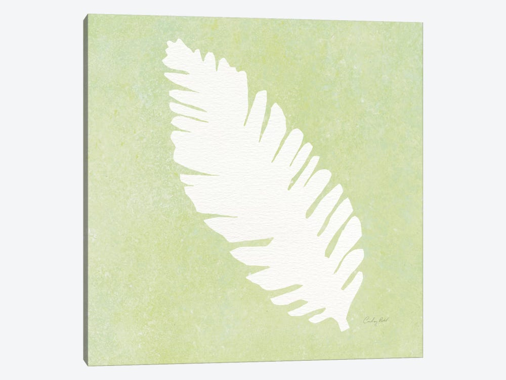 Tropical Fun Palms Silhouette IV by Courtney Prahl 1-piece Canvas Wall Art