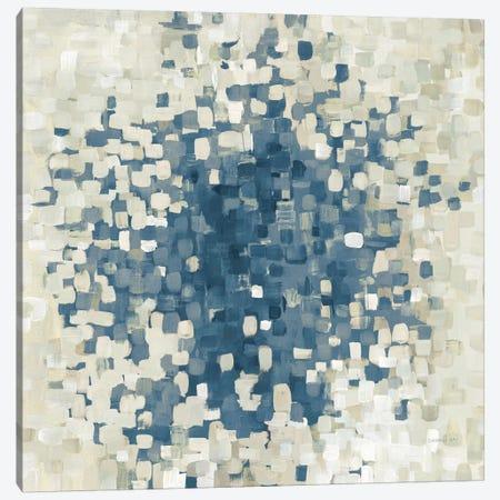 Summer Blocks Blue Canvas Print #WAC8816} by Danhui Nai Canvas Art Print