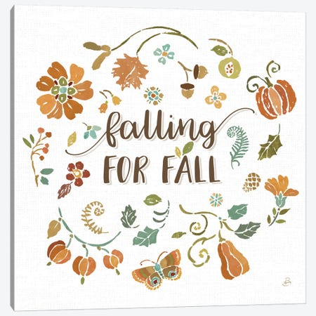 Autumn Impressions III Canvas Print #WAC8818} by Daphne Brissonnet Canvas Art