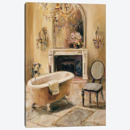 French Bath I Canvas Print #WAC881} by Marilyn Hageman Canvas Wall Art