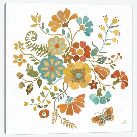 Autumn Impressions V Canvas Print #WAC8820} by Daphne Brissonnet Art Print