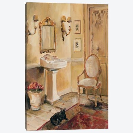 French Bath II Canvas Print #WAC882} by Marilyn Hageman Canvas Art
