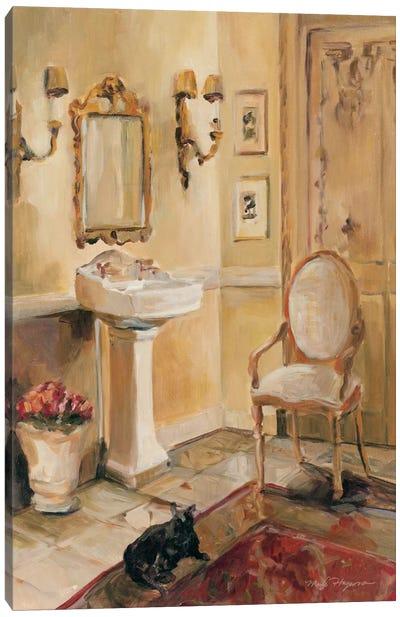 French Bath II Canvas Art Print