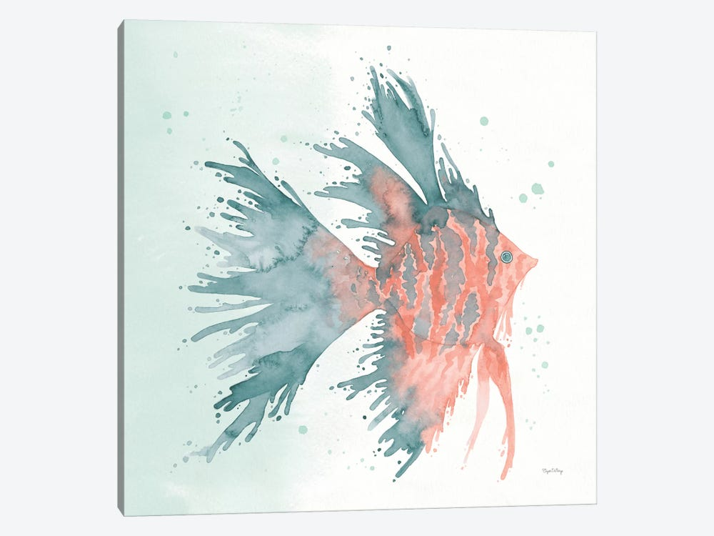 Splash V by Elyse DeNeige 1-piece Canvas Artwork