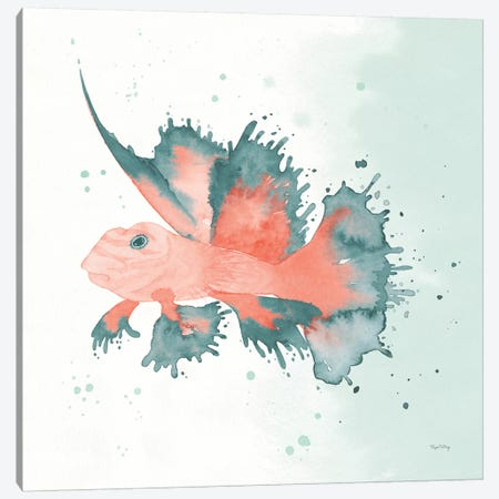 Splash VI Canvas Print #WAC8838} by Elyse DeNeige Canvas Artwork