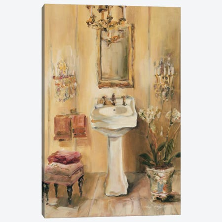 French Bath III Canvas Print #WAC883} by Marilyn Hageman Canvas Artwork