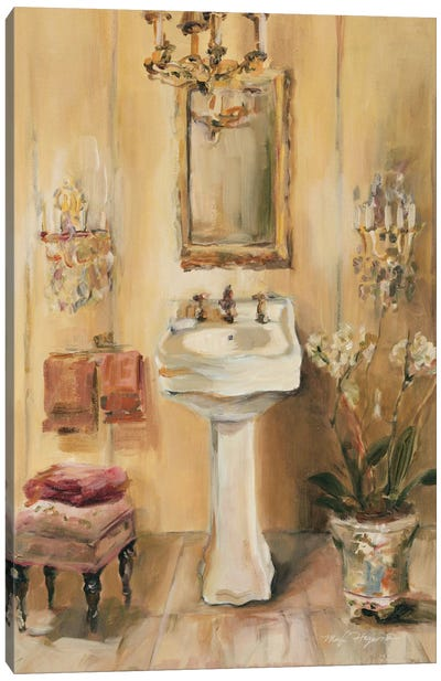 French Bath III by Marilyn Hageman Canvas Art Print