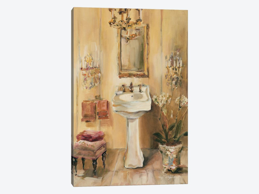 French Bath III by Marilyn Hageman 1-piece Canvas Artwork
