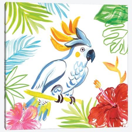 Tropicana I Canvas Print #WAC8845} by Farida Zaman Canvas Wall Art