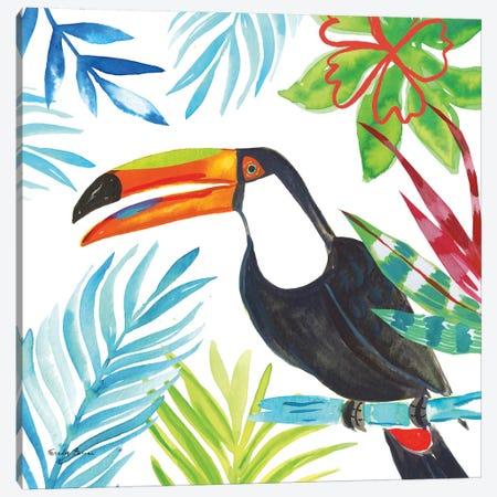 Tropicana II Canvas Print #WAC8846} by Farida Zaman Canvas Wall Art