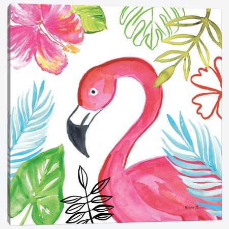 Tropicana IV Canvas Print #WAC8848} by Farida Zaman Canvas Art Print