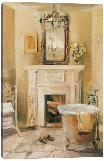 French Bath IV Canvas Art Print