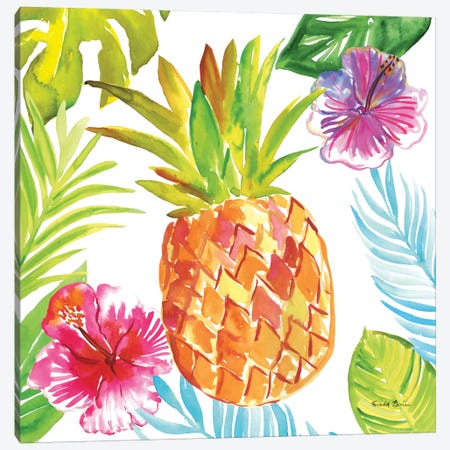 Tropicana VI 3-Piece Canvas #WAC8850} by Farida Zaman Canvas Artwork