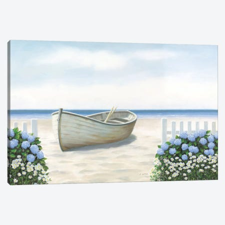 Beach Days I Canvas Print #WAC8851} by James Wiens Canvas Art