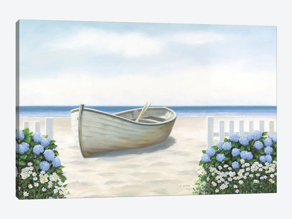 Beach Days I by James Wiens 1-piece Canvas Artwork