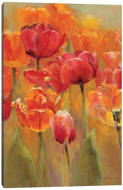 Tulips in the Midst I Canvas Art Print