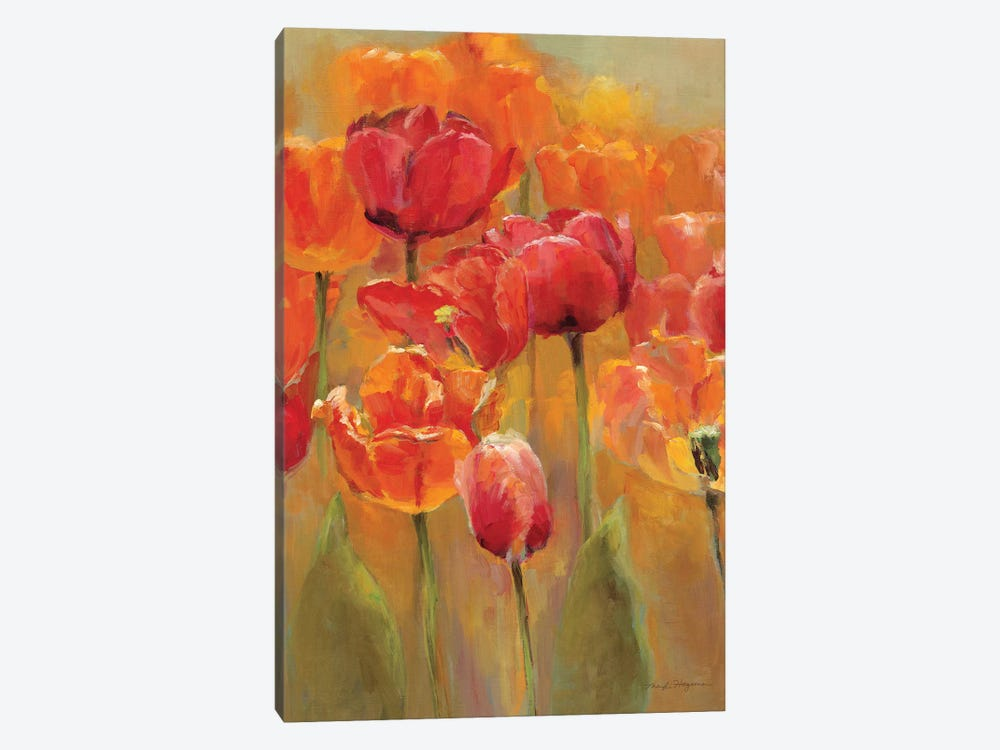 Tulips in the Midst I by Marilyn Hageman 1-piece Canvas Artwork