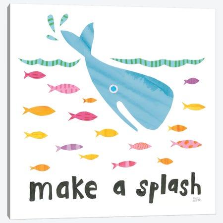 Ocean Splash I Canvas Print #WAC8881} by Melissa Averinos Canvas Art Print