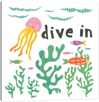 Ocean Splash III Canvas Art Print
