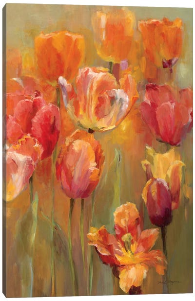 Tulips in the Midst II Canvas Art Print