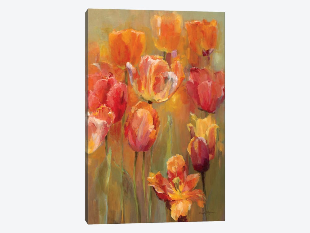 Tulips in the Midst II by Marilyn Hageman 1-piece Canvas Art Print