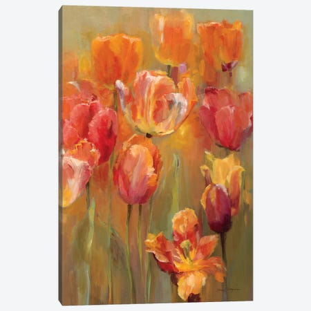 Tulips in the Midst II 3-Piece Canvas #WAC888} by Marilyn Hageman Canvas Wall Art