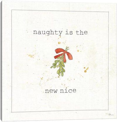 Christmas Cuties III - Naughty is the New Nice Canvas Art Print
