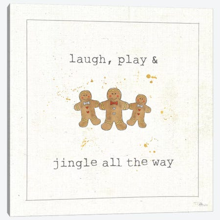 Christmas Cuties VI Canvas Print #WAC8894} by Pela Studio Canvas Print