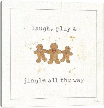 Christmas Cuties VI Canvas Art Print