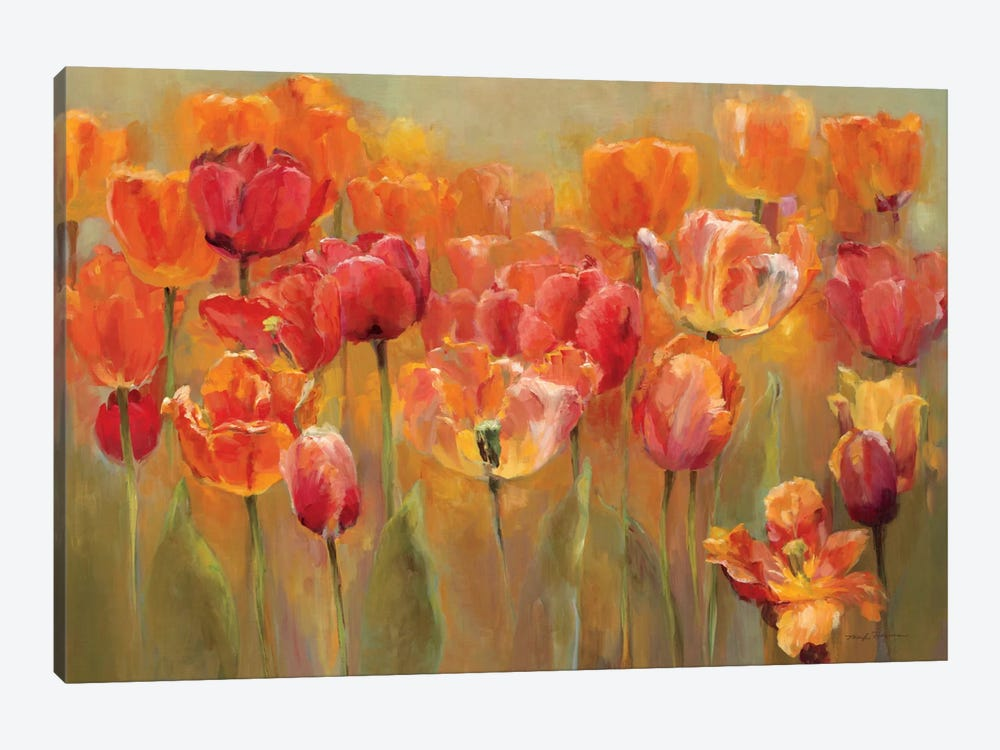 Tulips in the Midst III by Marilyn Hageman 1-piece Canvas Wall Art