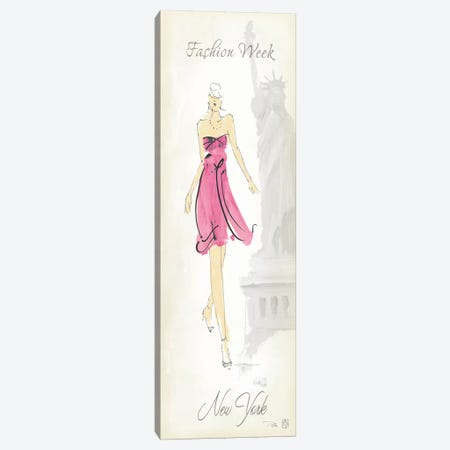 Fashion Lady II Canvas Print #WAC88} by Avery Tillmon Art Print