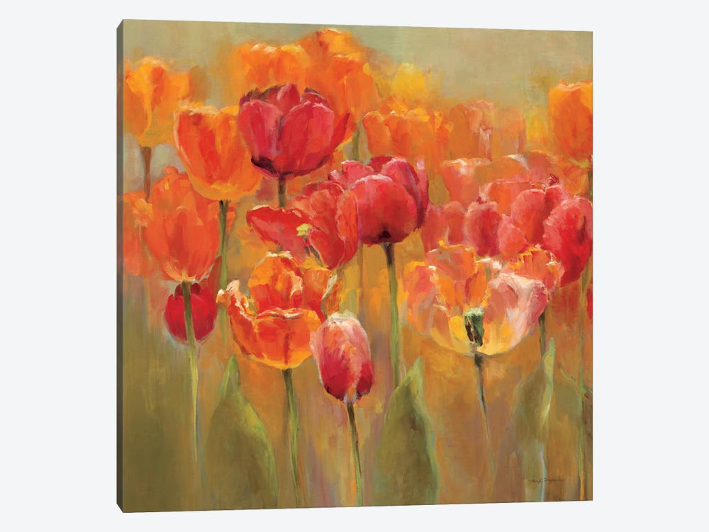 Tulips in the Midst IV 1-piece Canvas Art
