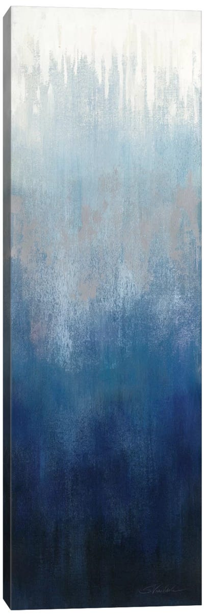 Silver Wave I Canvas Art Print