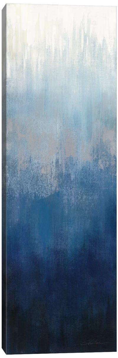 Silver Wave II Canvas Art Print