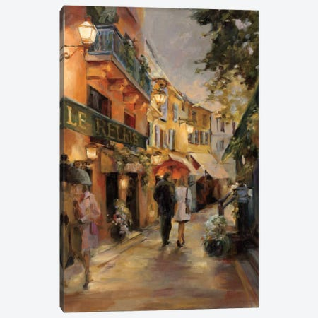 Evening in Paris I Canvas Print #WAC891} by Marilyn Hageman Canvas Print
