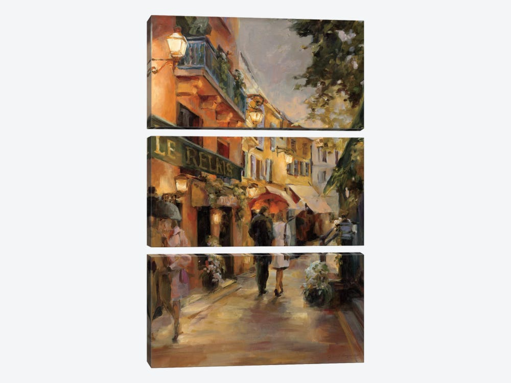 Evening in Paris I by Marilyn Hageman 3-piece Art Print