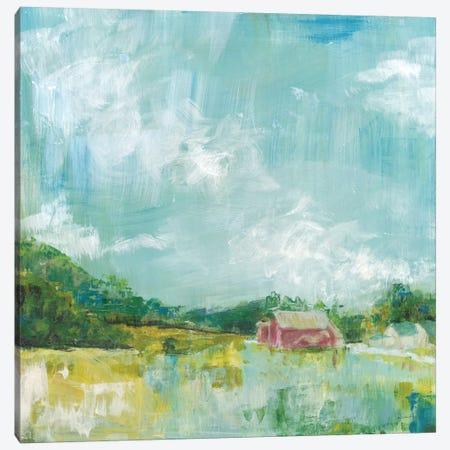 Horizon Farm 3-Piece Canvas #WAC8921} by Sue Schlabach Canvas Wall Art