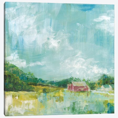 Horizon Farm Canvas Print #WAC8921} by Sue Schlabach Canvas Wall Art