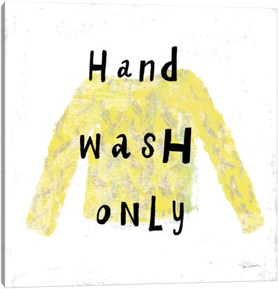 Laundry Rules IV Canvas Art Print