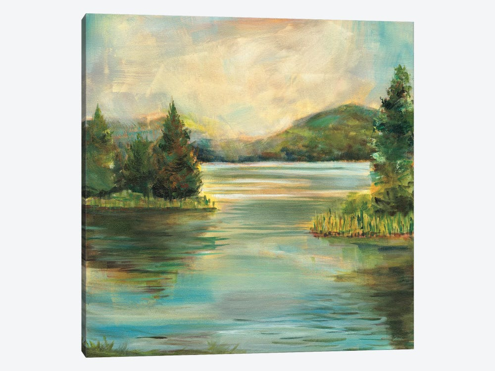 Silver Lake 1-piece Art Print