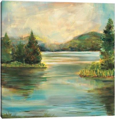 Silver Lake Canvas Art Print