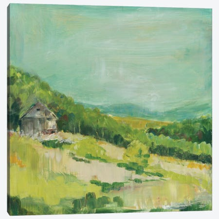 Upper Fields Canvas Print #WAC8927} by Sue Schlabach Canvas Art Print