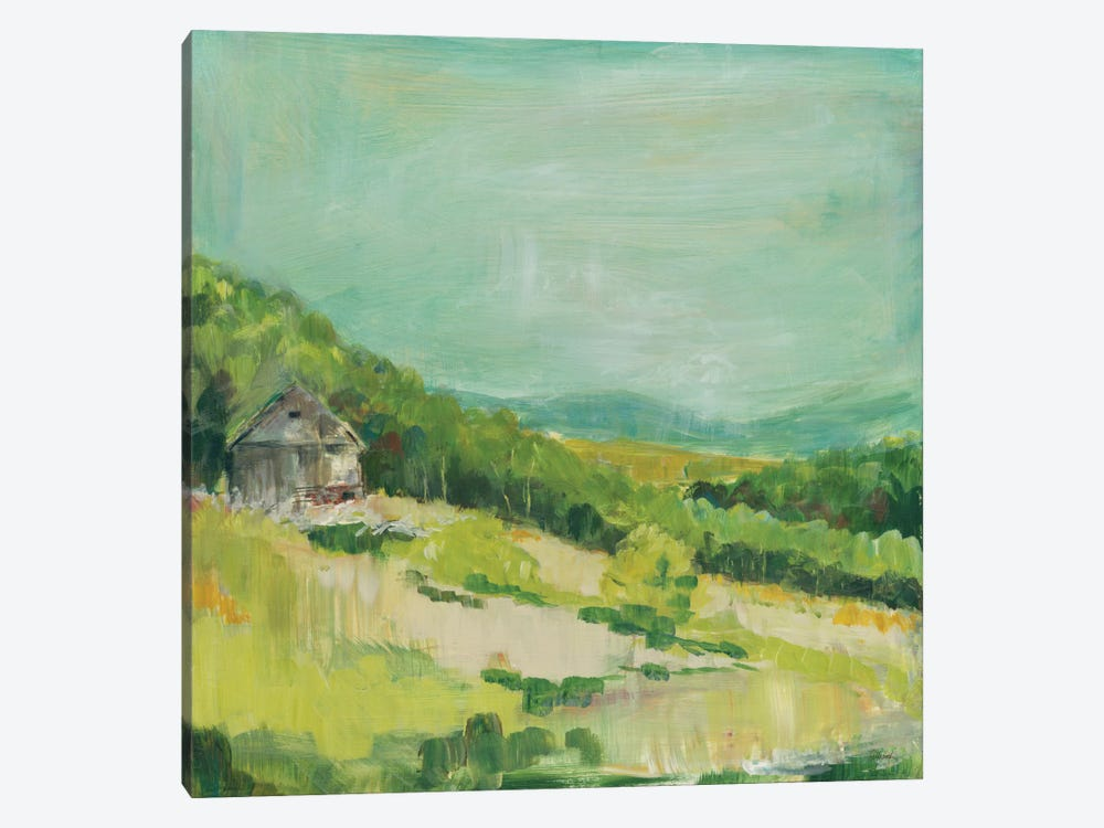 Upper Fields 1-piece Canvas Wall Art
