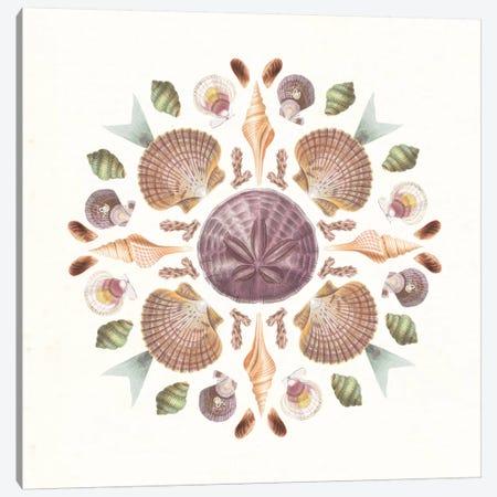 Ocean Mandala II Canvas Print #WAC8933} by Wild Apple Portfolio Art Print